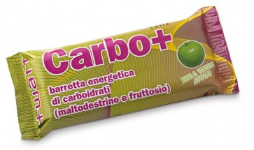 Carbo+ - +Watt - Box 20 Barrette Energetiche 40g Albicocca