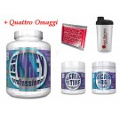 100% whey iso 2,2 kg proteine isolate senza glutine + Creatina 200g e Bcaa 150cps Muscle Center + Omaggio Scitec