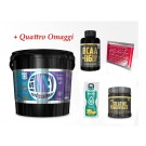 Muscle Center Iso whey 5 kg proteine siero cioccolato + Creatina Gold's Nutrition + BCAA Gold's + OMAGGI