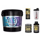 100% Whey Professional 5kg siero MUSCLE CENTER Cioccolato + Creatina 100g + Bolero+ shaker+proteine
