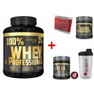 100% Whey Professional 1,8Kg proteine siero del latte + Bcaa 8.1.1 200cpr + Creatina 100g Gold's Nutrition + Omaggi