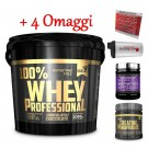 100% whey protein siero Gold's Nutrition 5 kg + Bcaa 125cpr e Creatina 100g + Omaggi